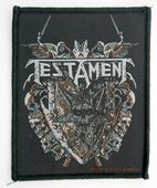 Testament - 'Shield' Woven Patch